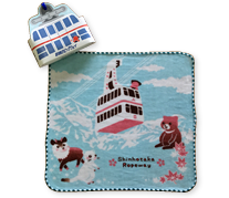 Shinhotaka Ropeway X Hello Kitty collaboration product