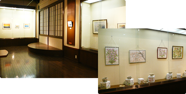 "Art gallery ""hidanokaze"" of plateau"