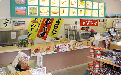 Takeout corners such as light meal or drink