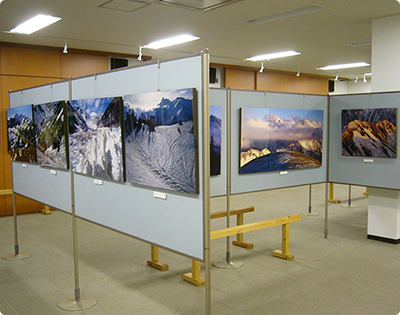 Ridge Hisomu Koike photo exhibition is being held which is dear in the four seasons of the Northern Alps! (no charge for admission)