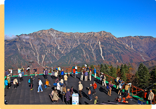 "It is come to ""Nishihotakaguchi Station"" ♪ Large panorama 360-degree from observation deck"