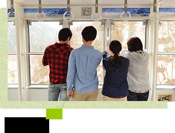 日本唯一の2階建て展望台へ!