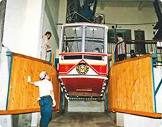 New gondola (No.1 ropeway)