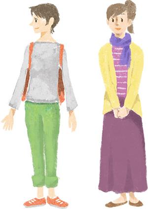 5月~6月|9月~10月の服装