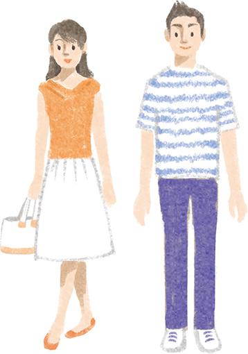7月~8月の服装