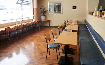 """咖啡室、便饭""""笠岳"""""""