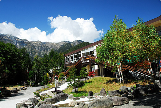 Shin-Hotaka Onsen Station (1,117m above sea level)