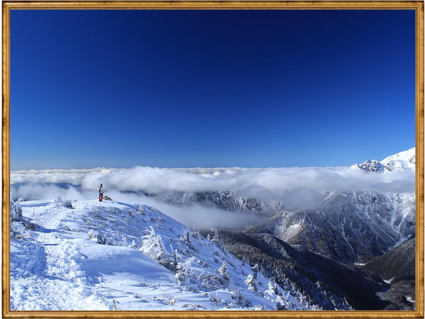 「雲上のホワイトロード