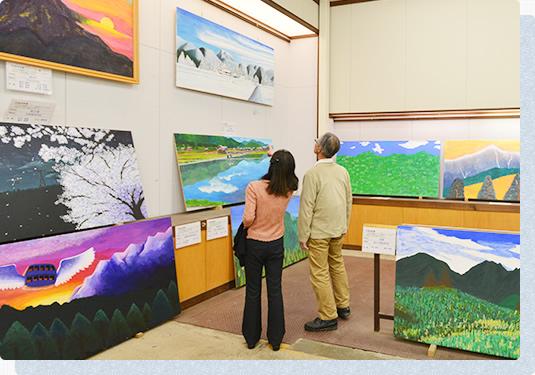 「風景画コンクール」を鑑賞