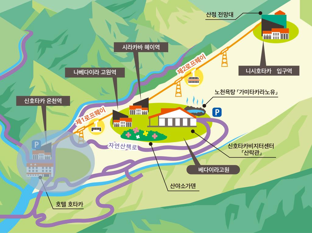 신호타카 온천 역