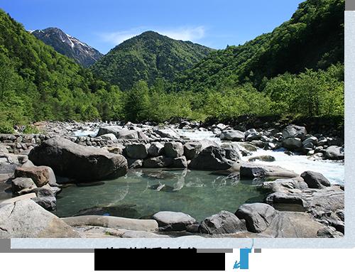 一边尽情享受大自然,一边有的大露天浴池受欢迎。