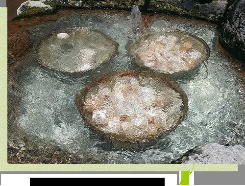 在溫泉裡泡,適當地煮上gattahantaitamago