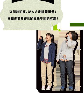 """首先被在第1高空纜車""""新穗高溫泉站""""出發"""