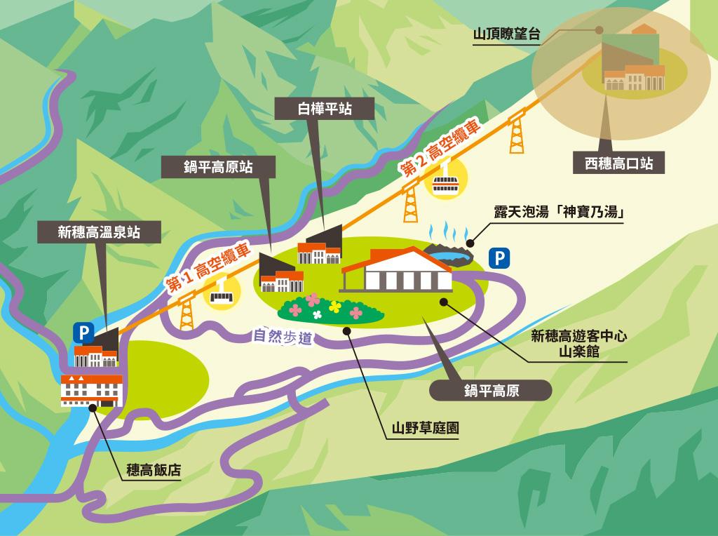 新穗高溫泉站