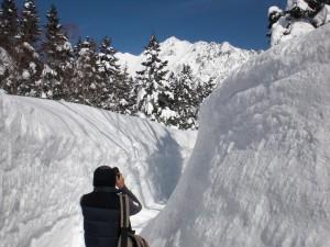 Corridor 2011 of snow①